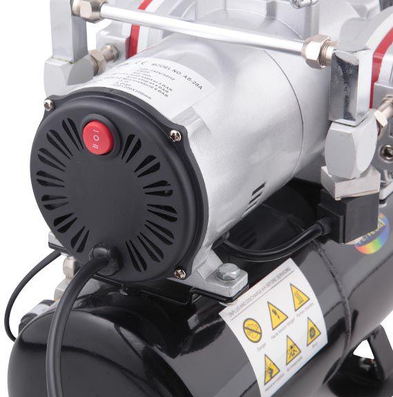 Compressor de 2 cabeçotes - 110V - Fengda AS-28A  - BLIMPS COMÉRCIO ELETRÔNICO