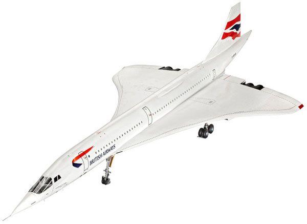 Concorde British Airways - 1/72 - Revell 04997  - BLIMPS COMÉRCIO ELETRÔNICO
