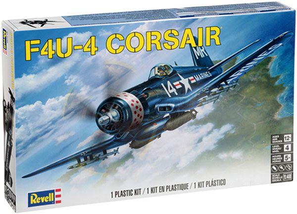 Corsair F4U-4 - 1/48 - Revell 85-5248  - BLIMPS COMÉRCIO ELETRÔNICO