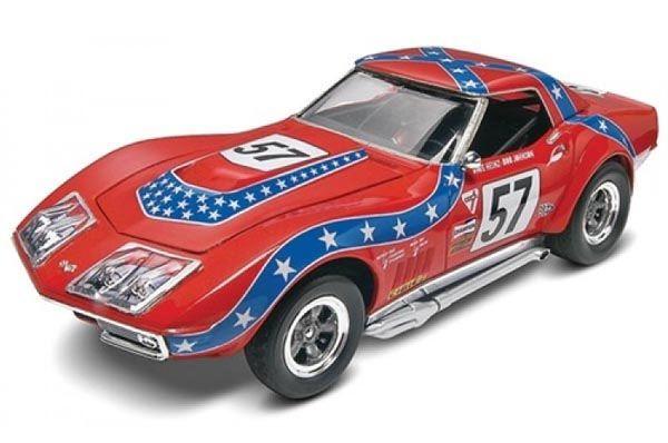 """Corvette L88 """"Rebel"""" Racer 1968 - 1/25 - Revell 85-4915  - BLIMPS COMÉRCIO ELETRÔNICO"""