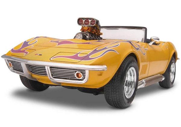 Corvette Roadster 2 em 1 1968 - 1/25 - Revell 85-2544  - BLIMPS COMÉRCIO ELETRÔNICO