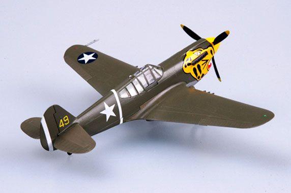Curtiss P-40E Tomahawk - 1/72 - Easy Model 37272  - BLIMPS COMÉRCIO ELETRÔNICO