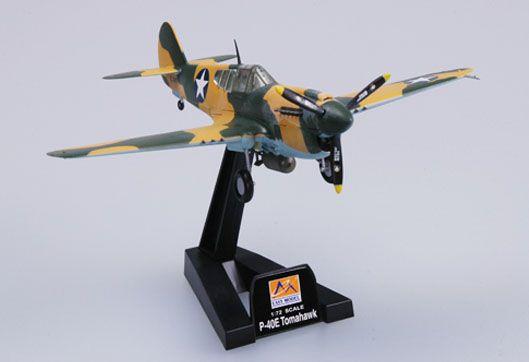 Curtiss P-40E Tomahawk - 1/72 - Easy Model 37273  - BLIMPS COMÉRCIO ELETRÔNICO