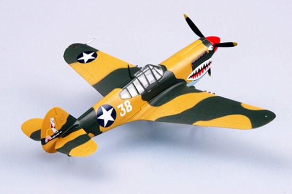 Curtiss P-40E Tomahawk - 1/72 - Easy Model 37274  - BLIMPS COMÉRCIO ELETRÔNICO