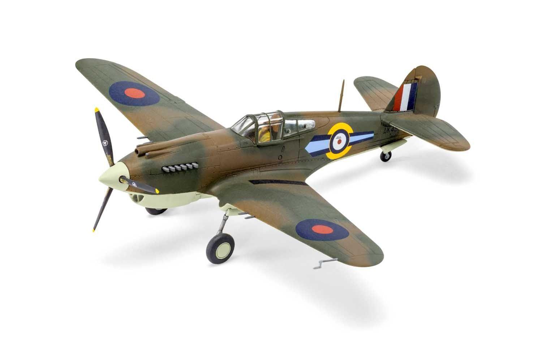 Curtiss Tomahawk Mk.IIB - 1/72 - Airfix A01003A  - BLIMPS COMÉRCIO ELETRÔNICO