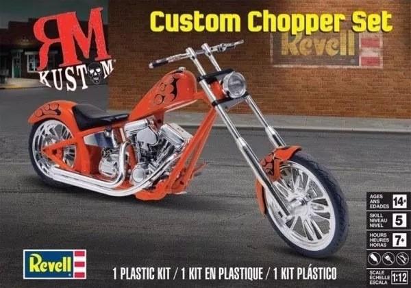 Custom Chopper Set - 1/12 - Revell 85-7324  - BLIMPS COMÉRCIO ELETRÔNICO