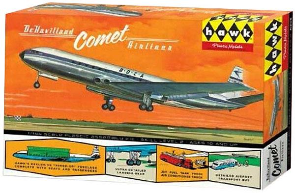 De Havilland Comet - 1/144 - Hawk HL512  - BLIMPS COMÉRCIO ELETRÔNICO