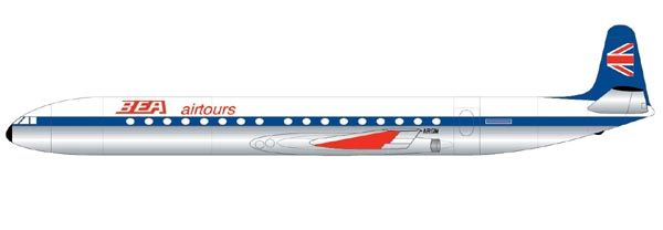 De Havilland Comet 4B - 1/144 - Airfix A04176  - BLIMPS COMÉRCIO ELETRÔNICO