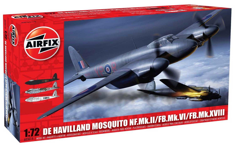 De Havilland Mosquito - 1/72 - Airfix A03019  - BLIMPS COMÉRCIO ELETRÔNICO