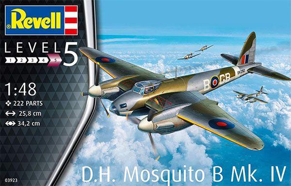 De Havilland Mosquito B Mk.IV - 1/48 - Revell 03923  - BLIMPS COMÉRCIO ELETRÔNICO