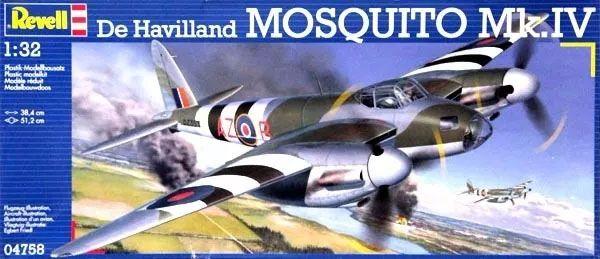 De Havilland Mosquito Mk.IV - 1/32 - Revell 04758  - BLIMPS COMÉRCIO ELETRÔNICO