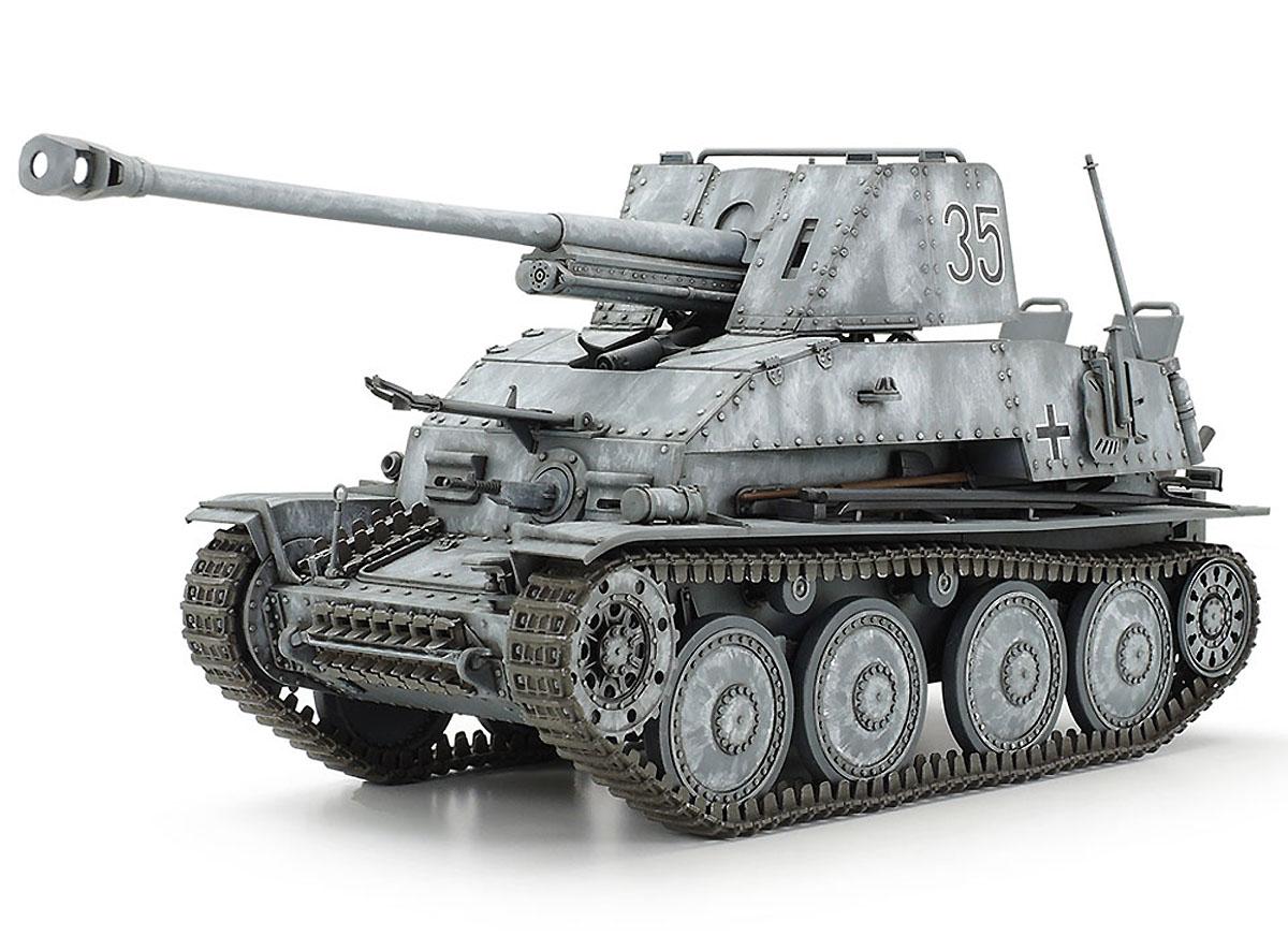 Destruidor de Tanques Alemão Marder III - 1/35 - Tamiya 35248  - BLIMPS COMÉRCIO ELETRÔNICO
