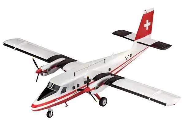 DHC-6 Twin Otter Swisstopo - 1/72 - Revell 03954  - BLIMPS COMÉRCIO ELETRÔNICO