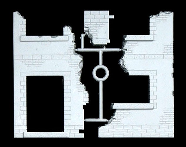 Diorama parede de alvenaria - 1/35 - Italeri  6413  - BLIMPS COMÉRCIO ELETRÔNICO