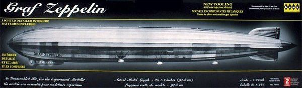 Dirigível Graf Zeppelin - 1/245 - Hawk 70816  - BLIMPS COMÉRCIO ELETRÔNICO