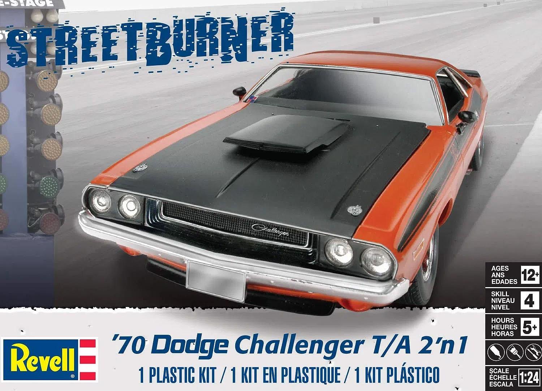 Dodge Challenger T/A 1970 - 1/24 - Revell 85-2596  - BLIMPS COMÉRCIO ELETRÔNICO