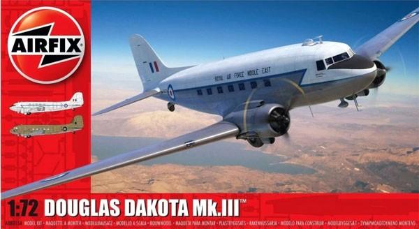 Douglas Dakota MK.III - 1/72 - Airfix A08015A  - BLIMPS COMÉRCIO ELETRÔNICO