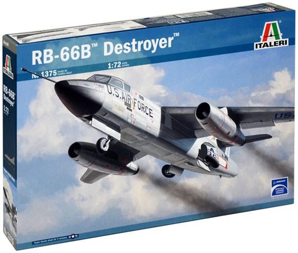 Douglas RB-66B Destroyer - 1/72 - Italeri 1375  - BLIMPS COMÉRCIO ELETRÔNICO