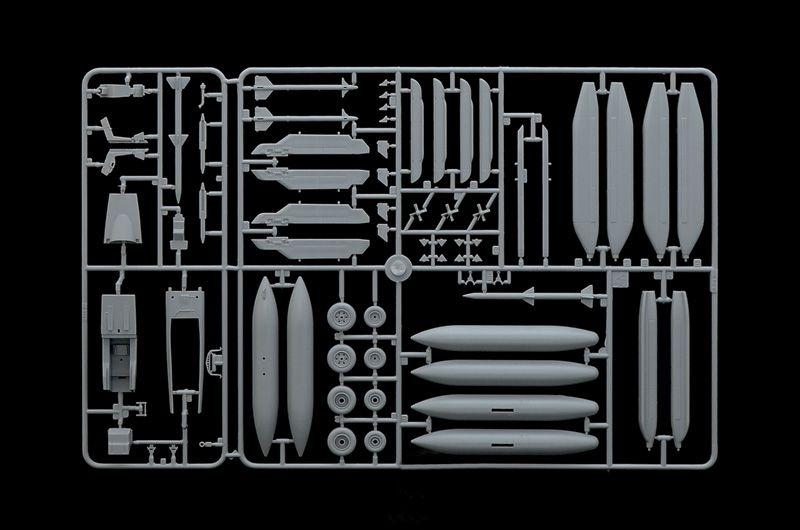 EA-18G Growler - 1/48 - Italeri 2716  - BLIMPS COMÉRCIO ELETRÔNICO