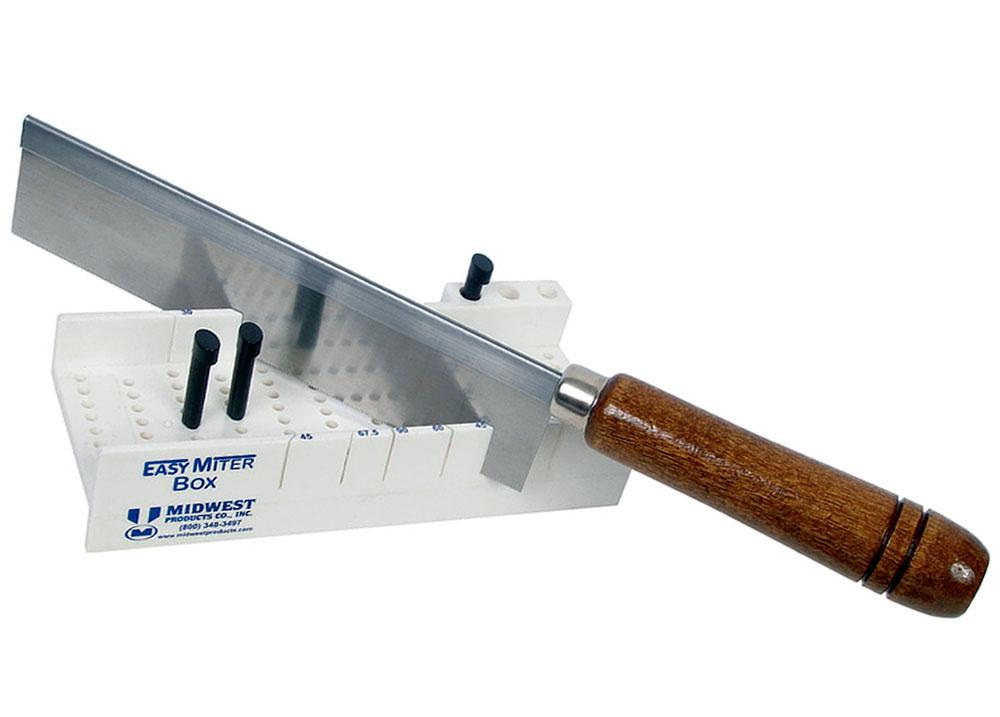 Easy Miter Box Deluxe (gabarito de corte com serra) - Midwest 1136  - BLIMPS COMÉRCIO ELETRÔNICO