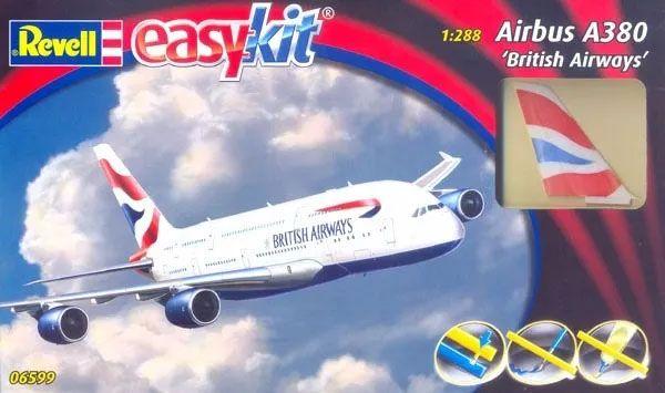 Easykit Airbus A380 ´British Airways´ - 1/288 - Revell 06599  - BLIMPS COMÉRCIO ELETRÔNICO