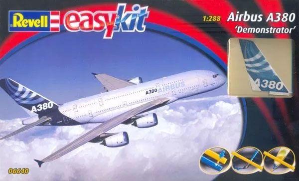 Easykit Airbus A380 ´Demonstrator´ - 1/288 - Revell 06640  - BLIMPS COMÉRCIO ELETRÔNICO