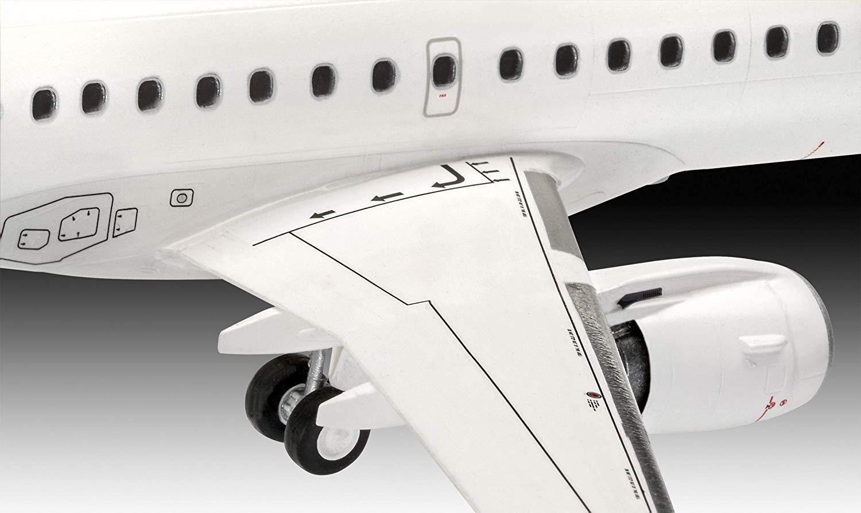 Embraer 190 Lufthansa New Livery - 1/144 - Revell 03883  - BLIMPS COMÉRCIO ELETRÔNICO