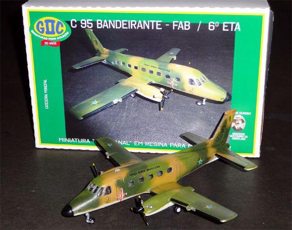 Embraer C-95 Bandeirante - FAB / 6° ETA - 1/72 - GIIC  - BLIMPS COMÉRCIO ELETRÔNICO
