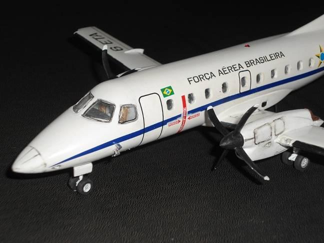Embraer EMB-120 Brasília - 1/72 - GIIC  - BLIMPS COMÉRCIO ELETRÔNICO