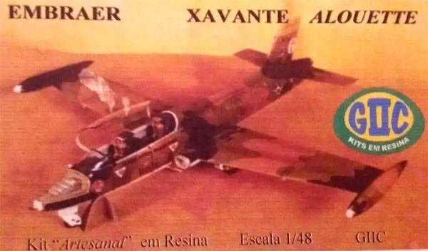 Embraer Xavante Alouette - 1/48 - GIIC  - BLIMPS COMÉRCIO ELETRÔNICO