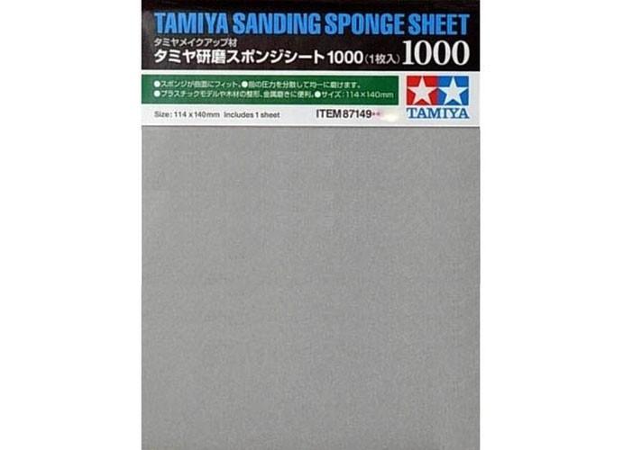 Esponja com lixa 1000 - Tamiya 87149  - BLIMPS COMÉRCIO ELETRÔNICO
