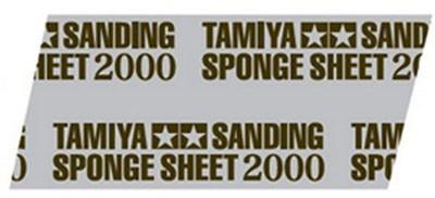 Esponja com lixa 2000 - Tamiya 87170  - BLIMPS COMÉRCIO ELETRÔNICO