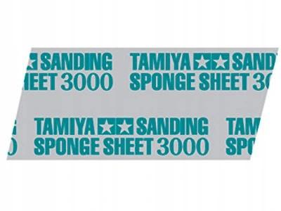 Esponja com lixa 3000 - Tamiya 87171  - BLIMPS COMÉRCIO ELETRÔNICO