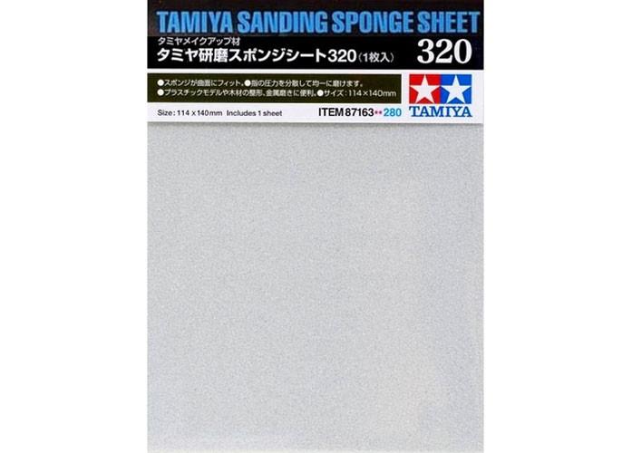 Esponja com lixa 320 - Tamiya 87163  - BLIMPS COMÉRCIO ELETRÔNICO