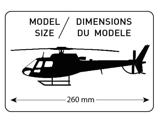 Eurocopter AS 350 B3 Everest - 1/48 - Heller 80488  - BLIMPS COMÉRCIO ELETRÔNICO