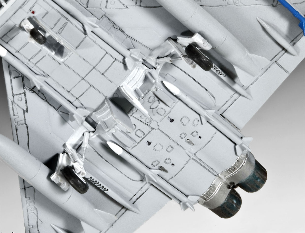 Eurofighter Typhoon (single seater) - 1/144 - Revell 04282 - BLIMPS COMÉRCIO ELETRÔNICO