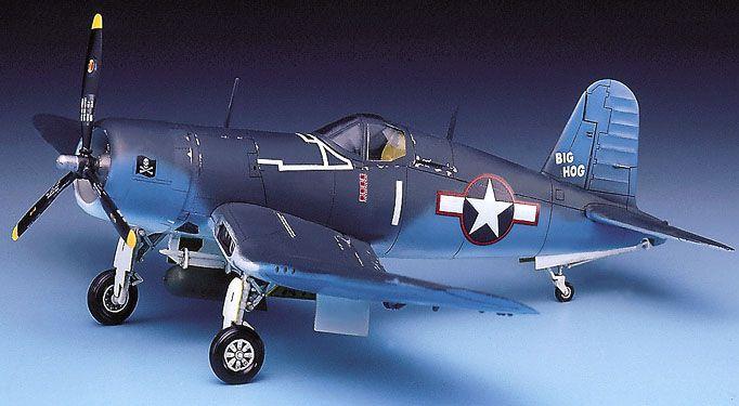 F4U-1 Corsair - 1/72 - Academy 12457  - BLIMPS COMÉRCIO ELETRÔNICO