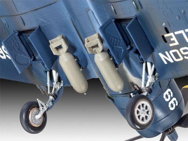 F4U-4 Corsair - 1/72 - Revell 03955  - BLIMPS COMÉRCIO ELETRÔNICO