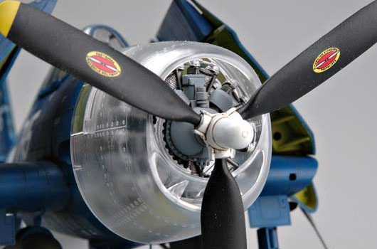 F6F-5N Hellcat Night Fighter - 1/32 - Trumpeter 02259  - BLIMPS COMÉRCIO ELETRÔNICO