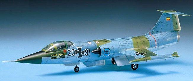 F-104G Starfighter - 1/72 - Academy 12443  - BLIMPS COMÉRCIO ELETRÔNICO