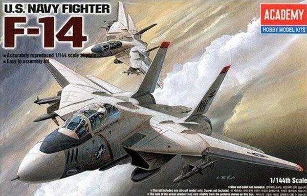 F-14 - 1/144 - Academy 12608  - BLIMPS COMÉRCIO ELETRÔNICO
