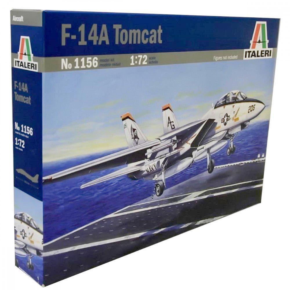 F-14A Tomcat - 1/72 - Italeri 1156  - BLIMPS COMÉRCIO ELETRÔNICO
