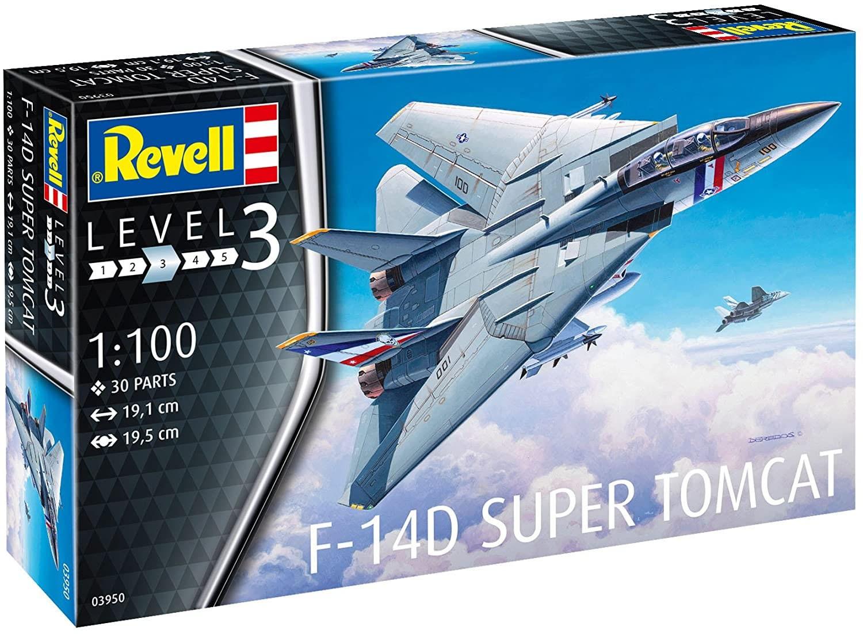 F-14D Super Tomcat - 1/100 - Revell 03950  - BLIMPS COMÉRCIO ELETRÔNICO