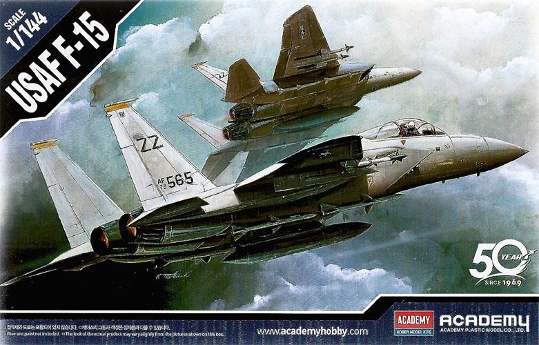 F-15 - 1/144 - Academy 12609  - BLIMPS COMÉRCIO ELETRÔNICO