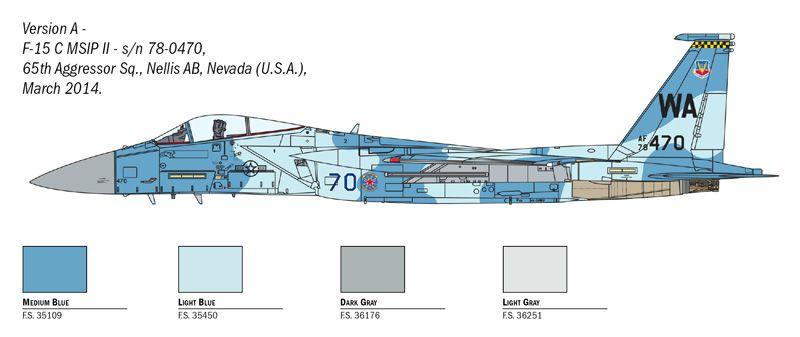 F-15C Eagle - 1/72 - Italeri 1415  - BLIMPS COMÉRCIO ELETRÔNICO