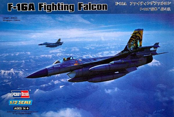 F-16A Fighting Falcon - 1/72 - HobbyBoss 80272  - BLIMPS COMÉRCIO ELETRÔNICO
