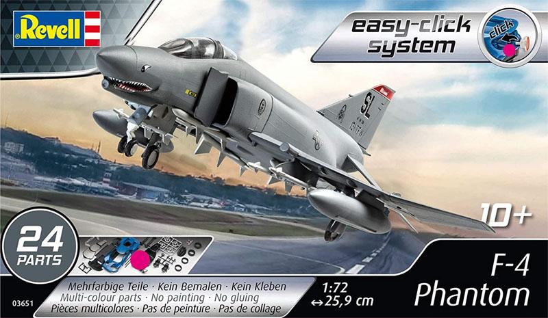 F-4 Phantom - 1/72 - Revell 03651  - BLIMPS COMÉRCIO ELETRÔNICO