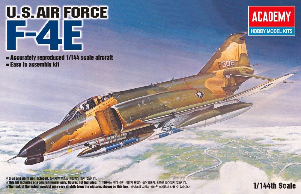 F-4E - 1/144 - Academy 12605  - BLIMPS COMÉRCIO ELETRÔNICO