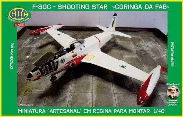 F-80C Shooting Star - 1/48 - GIIC  - BLIMPS COMÉRCIO ELETRÔNICO