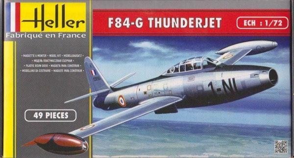 F-84G Thunderjet - 1/72 - Heller 80278  - BLIMPS COMÉRCIO ELETRÔNICO